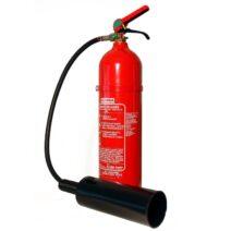 5 kg-os CO2-vel oltó tűzoltó készülék