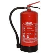 Állandó nyomású (nitrogén hajtógázas) 9 literes habbal oltó S9DLWB GLORIA készülék.