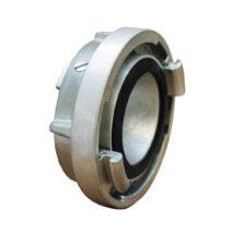 Az eltérő átmérőjű tűzcsap szerelvények egymáshoz való csatlakoztatására szolgáló, 75/52 mm-es áttétkapocs.
