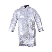 Magas hővisszaverő képességgel rendelkező Ignis anyagból készült bélés nélküli lángálló kabát.
