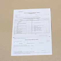 Beutalás munkaköri orvosi alkalmassági vizsgálatra - NYA032001
