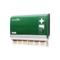 Kényelmes QuickFix rugalmas ragtapasz utántöltő amely 45 db ragtapaszt tartalmaz.