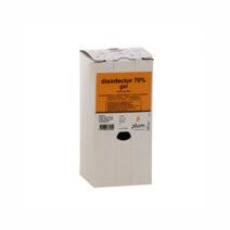 Disinfector 70% kézfertőtlenítő gél a higiénikus kezekért. 1.0 l bag-in-box