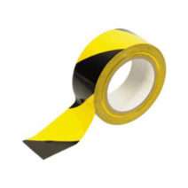 Kordonszalag sárga/fekete 200 m-es.