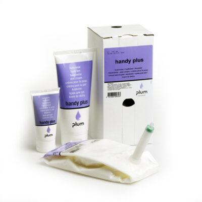 Handy Plus: Bőrápoló, kondicionáló krém védő hatással.