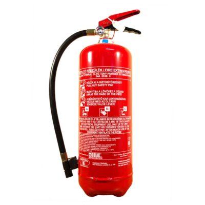 6 kg-os porral oltó tűzoltó készülék